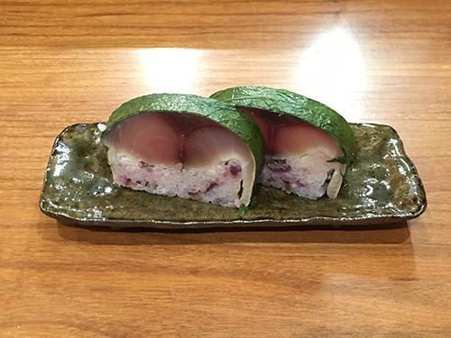 鯖寿司@佳肴岡もと