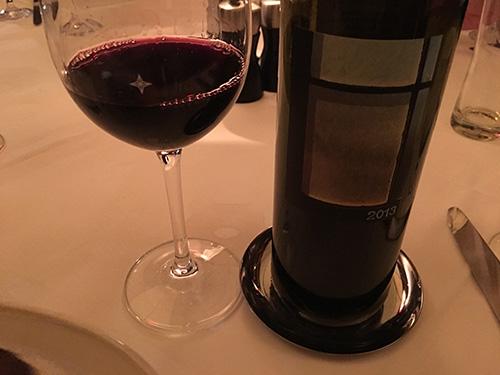 カリフォルニアの赤,フルボディ,100US$以下でソムリエに選んでもらったワイン