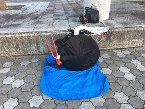 ホイールバッグとチェーンカバーでフレームとディレーラーを傷や汚れから守る.