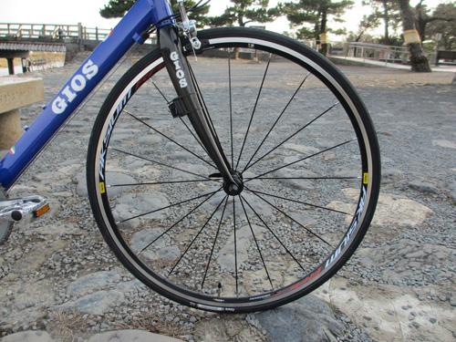 GIOS ULTIMO(ジオス・ウルティモ)2012年モデル:カーボンフォーク