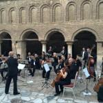 オフリドの聖ソフィア教会で生演奏が披露されたIEEE ICCA Welcome Reception @マケドニア
