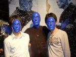 Blue Man Group(ブルーマングループ)のショーでノリノリに@ラスベガス