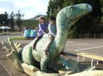 かつやま恐竜の森と福井県立恐竜博物館