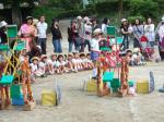 幼稚園の春の戸外活動(ミニ運動会)