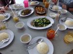 マレーシア滞在:ミリチキンライスレストランで昼食