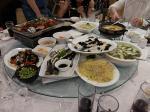 江南大学訪問:42%の白酒で乾杯しまくる晩餐会