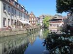 ストラスブール旧市街観光と食事:プチフランス