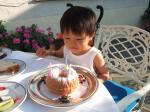 長男7歳のバースデーケーキは仮面ライダーダブルのヒートメタル