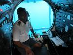 グアム3世代旅行6:潜水艦ツアーでアトランティス号に乗ってウミガメに遇う