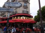 家族旅行DAY11:モンパルナスのカフェLa Rotonde(ラ・ロトンド)で美味しいディナーを満喫