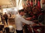 ミラノのリストランテCasa Luciaで美味しい生ハムやパスタやワインをいただく