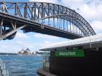 シドニー観光(午後):フェリーに乗ってオペラハウスとハーバーブリッジを眺める
